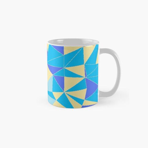 TRIANGLES BLUE Classic Mug
