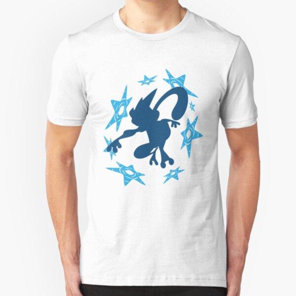 Greninja Shurikens Slim Fit T-Shirt