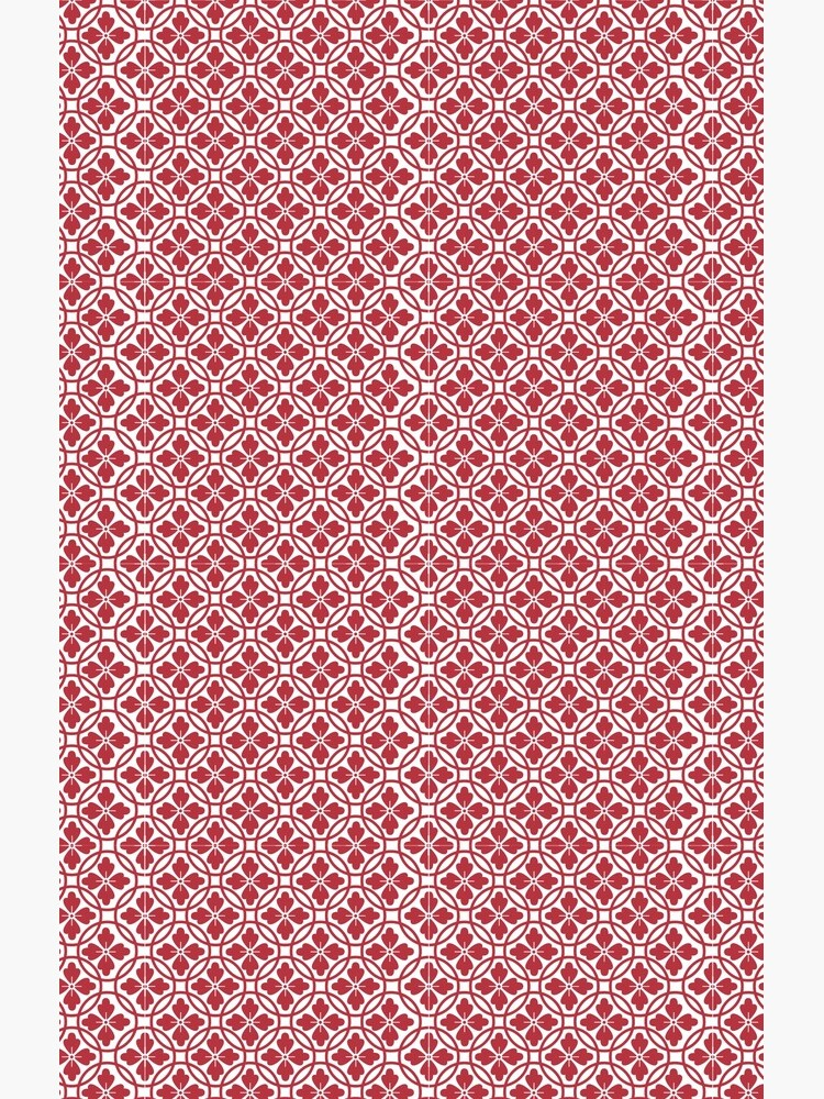 Red Pattern by ArtMystSoul