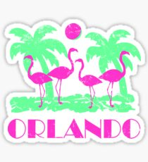 Vintage Orlando Florida Sticker