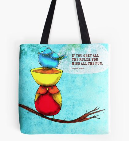 What my #Tea says to me - March 1, 2014 Pillow Tote Bag
