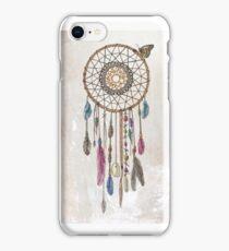 Colorful dream catcher art iPhone Case/Skin