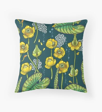 River of Mystery Throw Pillow