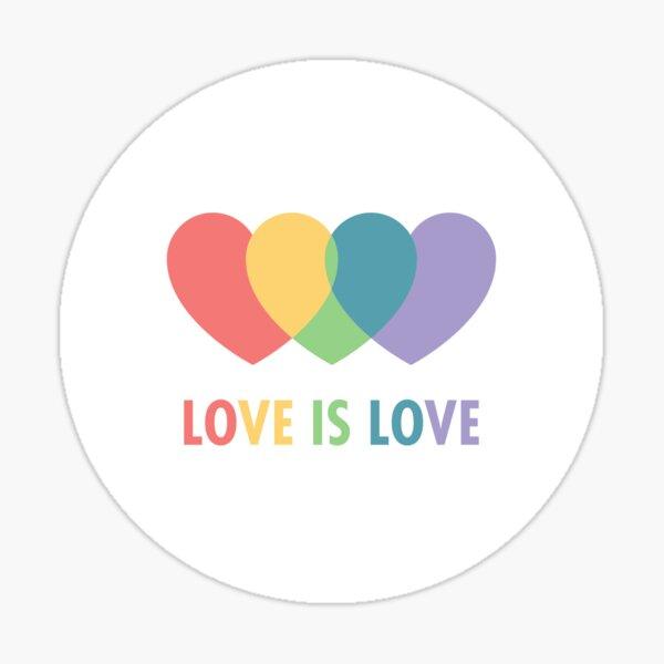 Love Is Love (Vintage) Sticker