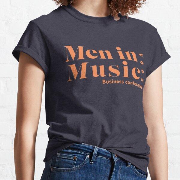 hombres en conferencia de negocios de la música Camiseta clásica