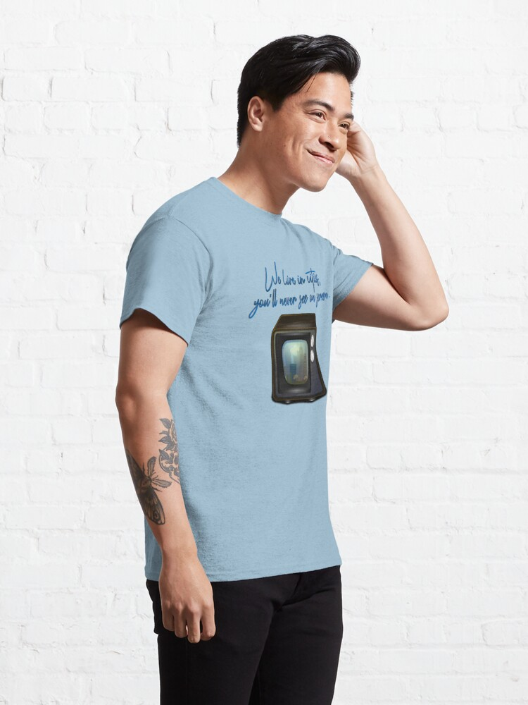 Alternate view of We Live In Cities - Lorde Design Classic T-Shirt
