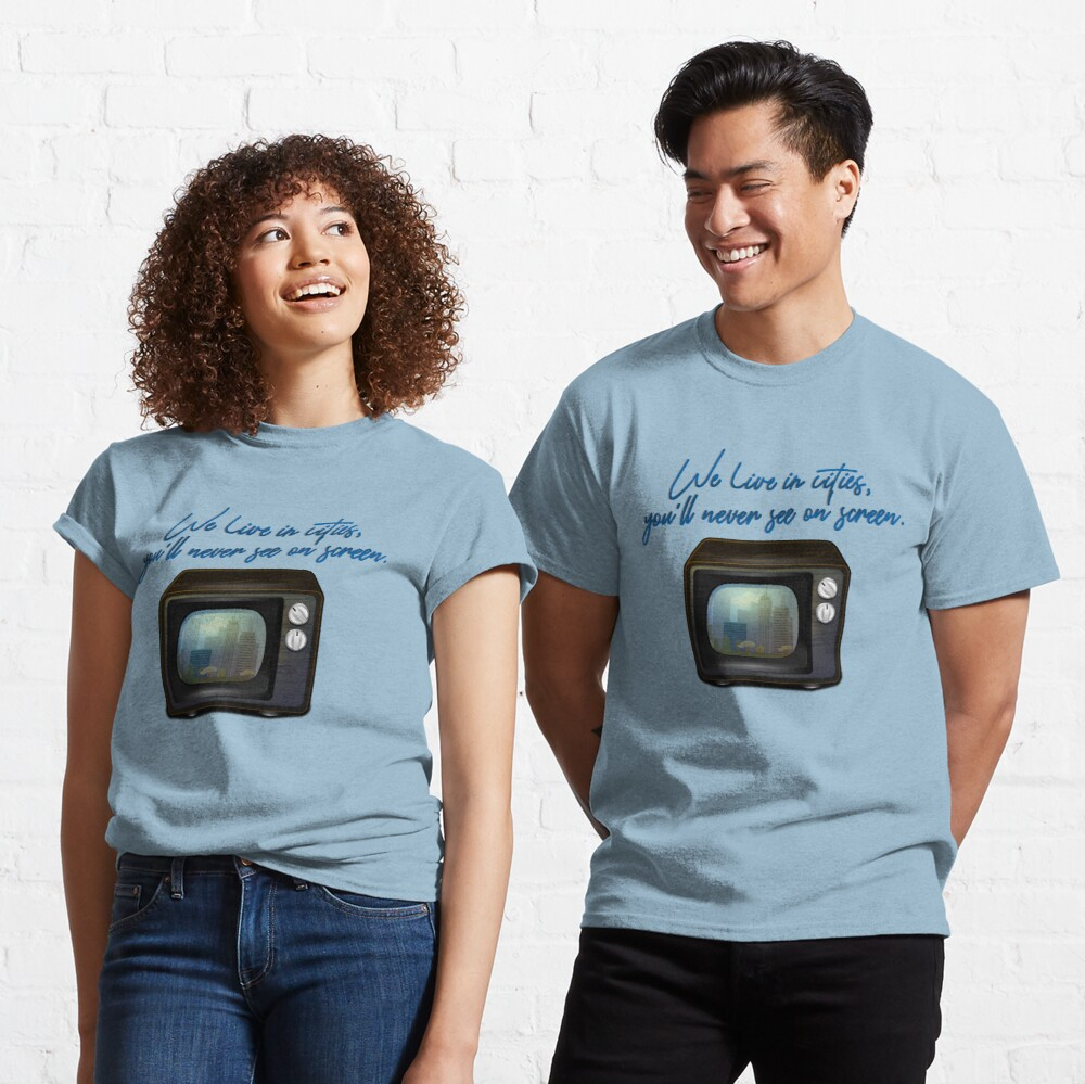 We Live In Cities - Lorde Design Classic T-Shirt