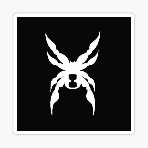 Black widow STICKER ONLY Sticker