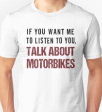 Rude Motorbike Shirt T-Shirt