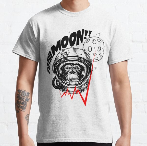 GME - To the moon Classic T-Shirt