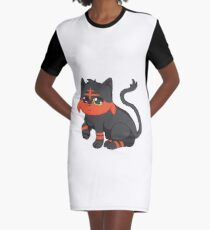 Litten- Pokemon Graphic T-Shirt Dress