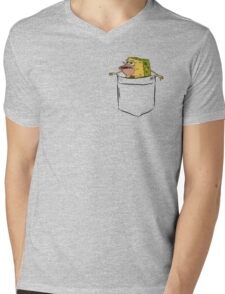 Primitive SpongeBob Pocket Tee Mens V-Neck T-Shirt