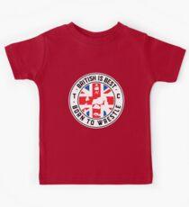 Toby Clements 'British Is Best' Flag Artwork #8 Kids Clothes
