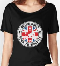 Toby Clements 'British Is Best' Flag Artwork #8 Women's Relaxed Fit T-Shirt