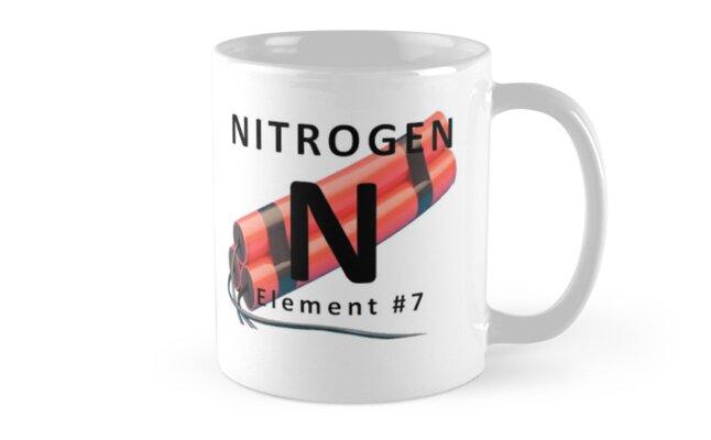 Tazas taza de qumica tabla peridica de elemento de nitrgeno taza de qumica tabla peridica de elemento de nitrgeno de nerdinspired urtaz Choice Image