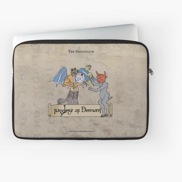 Jugglery of Demons Laptop Sleeve