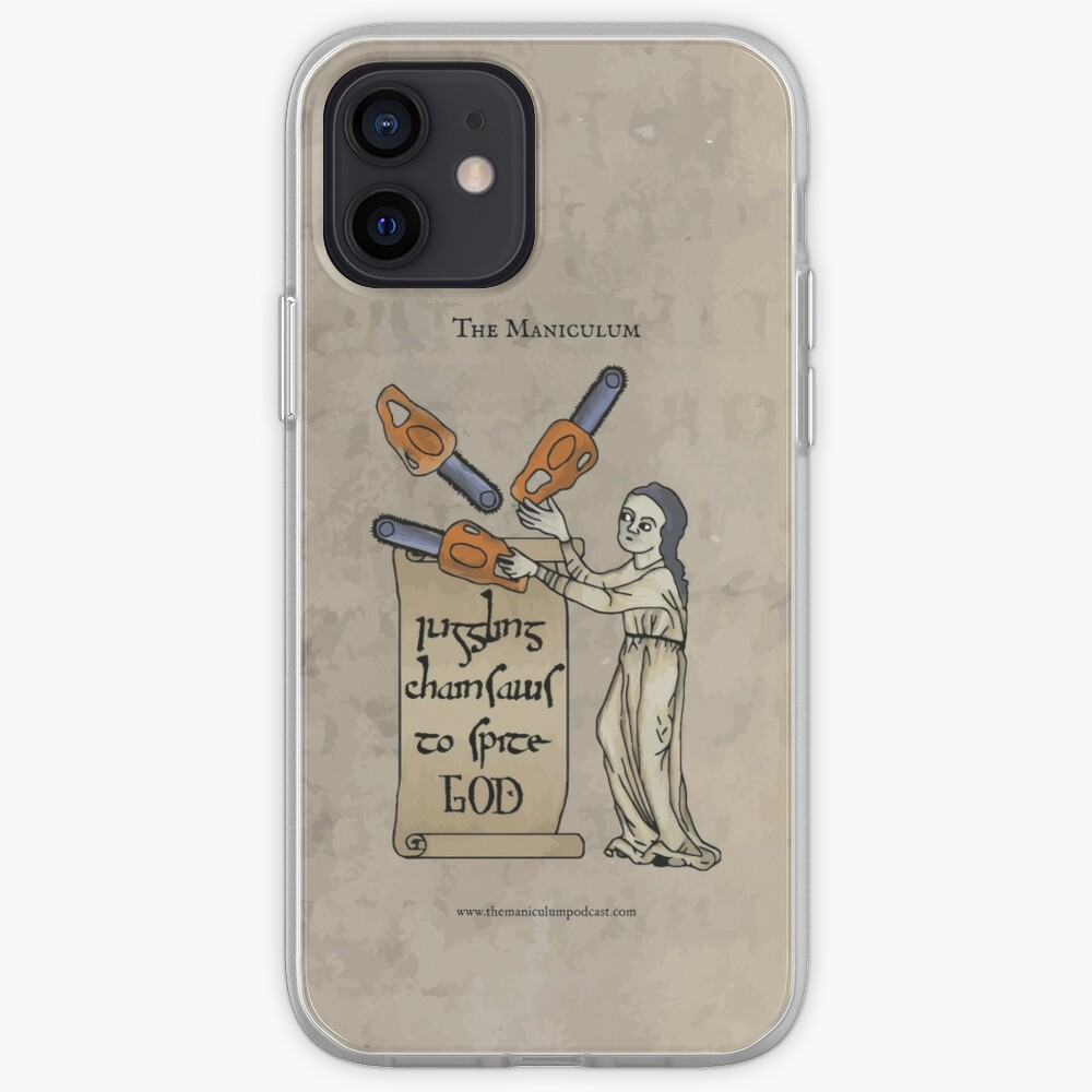 Juggling Chainsaws iPhone Case & Cover