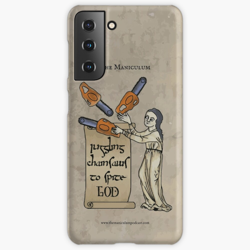 Juggling Chainsaws Case & Skin for Samsung Galaxy