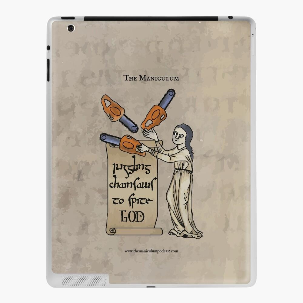 Juggling Chainsaws iPad Case & Skin