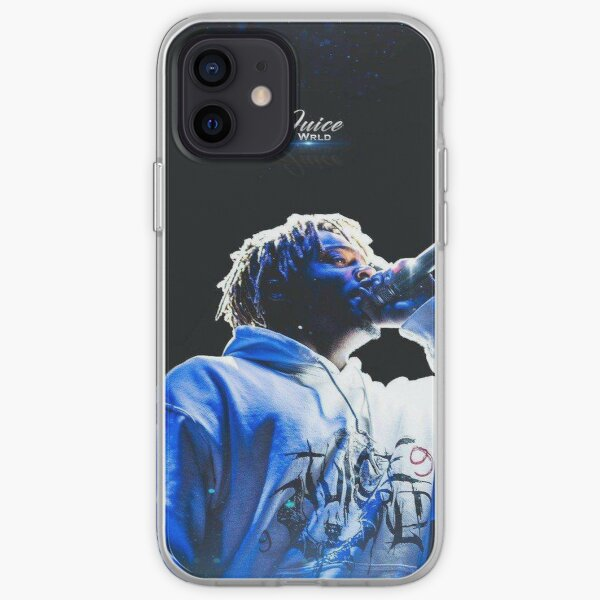 white hoddie singer iPhone Soft Case