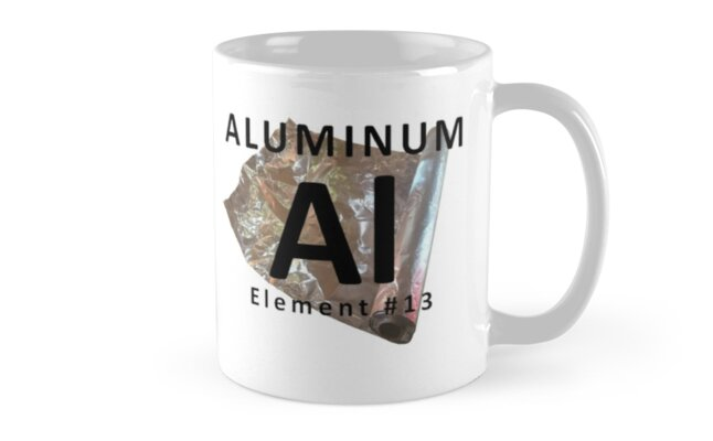 Chemistry mug aluminum element periodic table mugs by chemistry mug aluminum element periodic table by nerdinspired urtaz Image collections