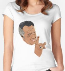 The sopranos - Paulie  Women's Fitted Scoop T-Shirt