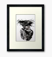 Ink Rave Framed Print
