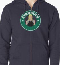 Starbuck Zipped Hoodie