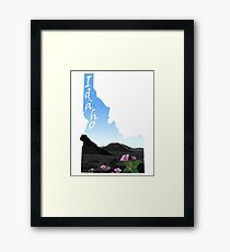 Idaho: Craters of the Moon Framed Print