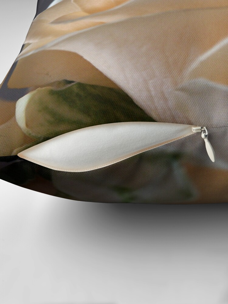 Alternate view of Apricots Throw Pillow