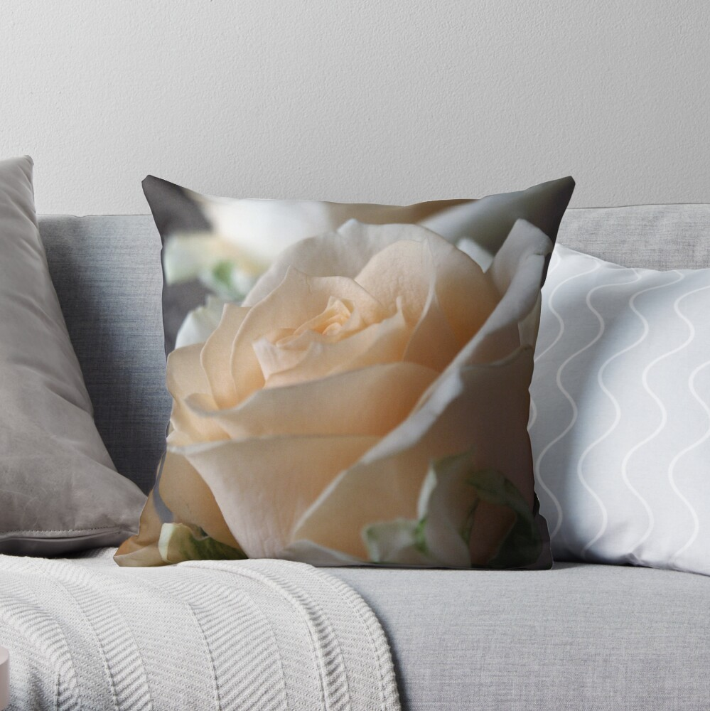 Apricots Throw Pillow