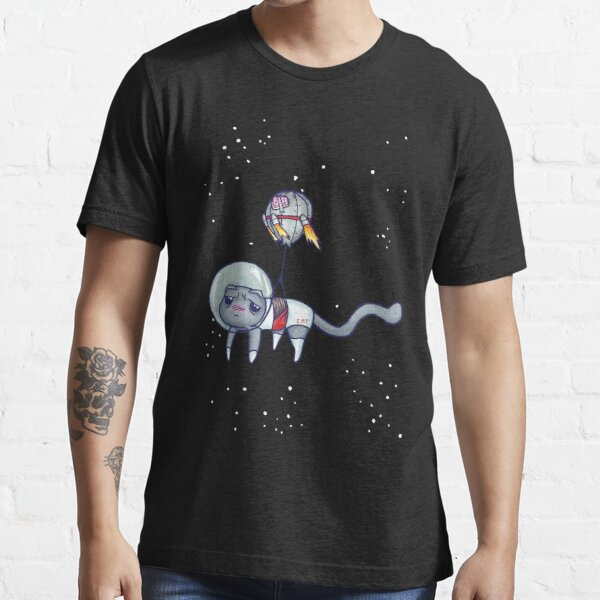 Theoretical Space Cat V2 Essential T-Shirt