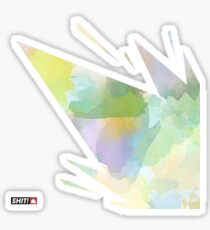 water color explosion Sticker