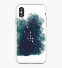 Watercolour Zodiac - Taurus iPhone Case