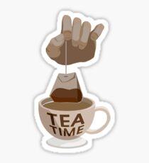 Tea Time Sticker Sticker