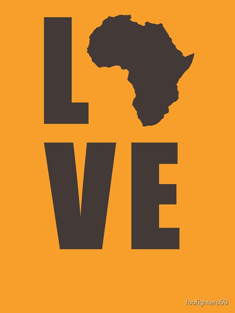 Liebe Afrika von foofighters69