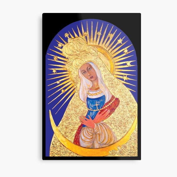Our Lady of Ostrabrama Metal Print