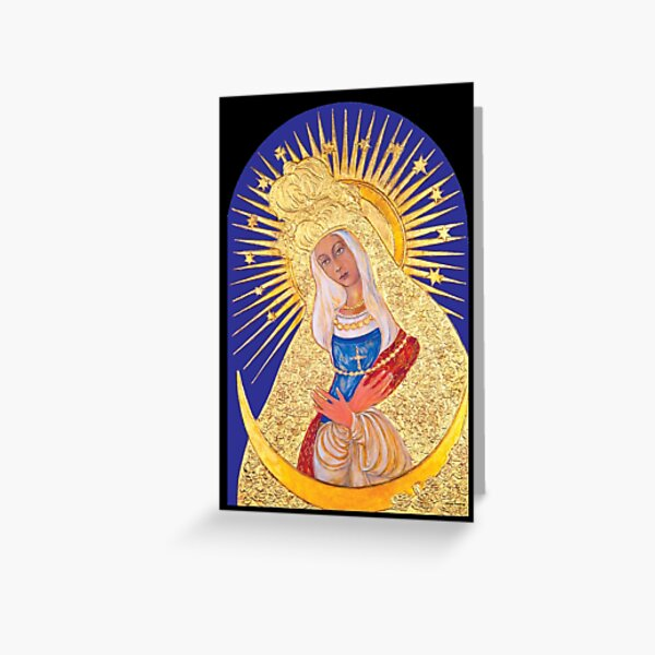 Our Lady of Ostrabrama Greeting Card