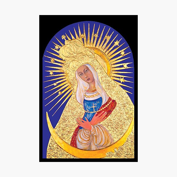 Our Lady of Ostrabrama Photographic Print