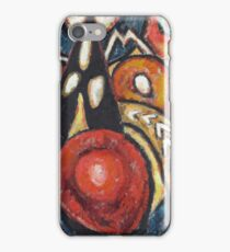 Marsden Hartley - Movements. Abstract painting: abstract art, geometric, expressionism, composition, lines, forms, creative fusion, spot, shape, illusion, fantasy future iPhone Case/Skin