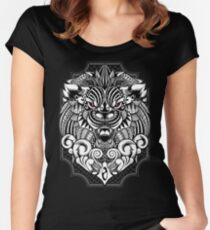 Maorian Lion Women's Fitted Scoop T-Shirt