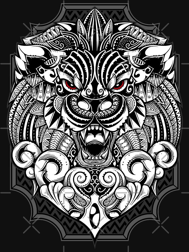 Maorian Lion by GODZILLARGE