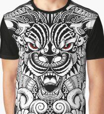 Maorian Lion Graphic T-Shirt