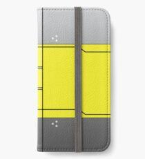 Gatchaman Crowds Hinweis - Utsutsu iPhone Flip-Case/Hülle/Skin
