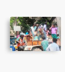 Laborers  Canvas Print