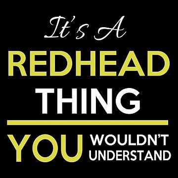 Redhead - Redhead Thing by estelleleggett