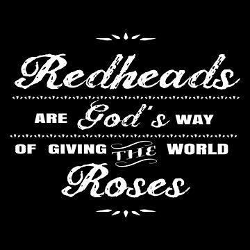 Redhead - Redheads Roses by estelleleggett
