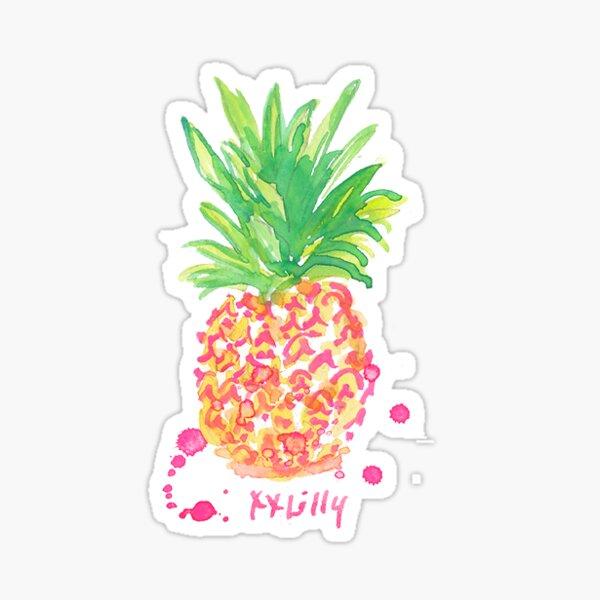 Pineapple Glossy Sticker