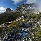 Cradle Mountain Postcard by Robert Mullner