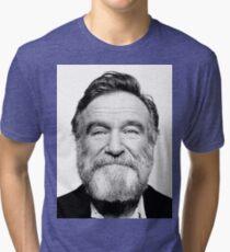 robin williams beard Tri-blend T-Shirt